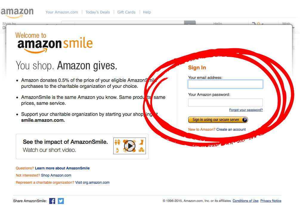 AmazonSmileSignIn